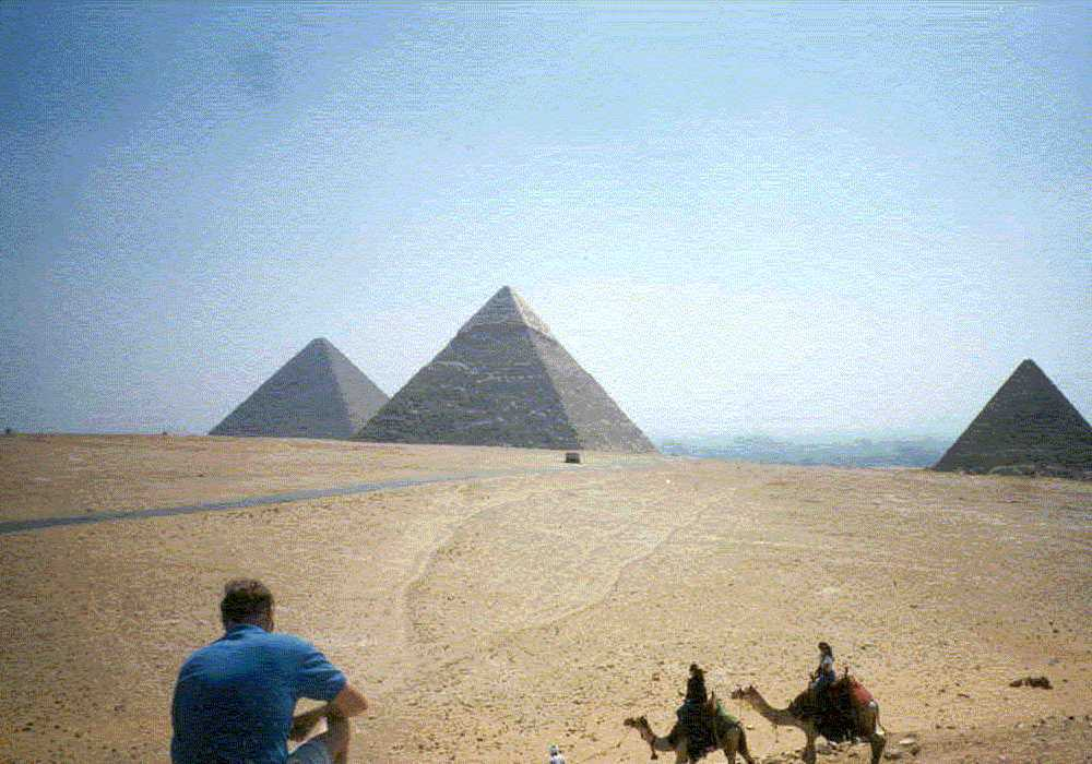 Howard at giza